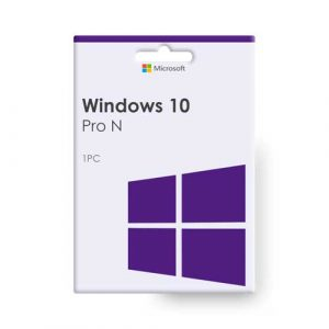 Windows 10 Pro N 32/64bit License Key Product