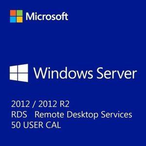 Microsoft Windows Server 2012 R2 Remote Desktop Services RDS 50 User CAL