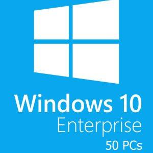 Windows 10 Enterprise 50 PC