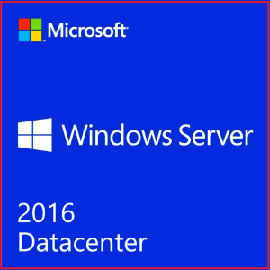 Windows Server 2016 Datacenter 16 Core 2 CPU | 50 User Cal's initial License