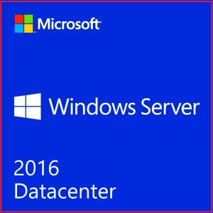 Windows Server 2016 Datacenter 16 Core 2 CPU | 50 User Cal's initial License