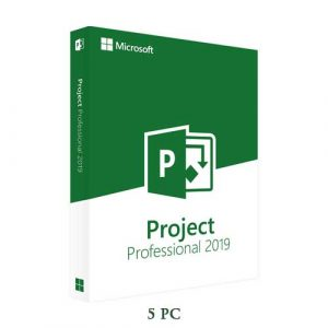 Microsoft Project Pro 2019 5 PC 32/64 Bit