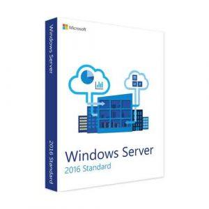 Microsoft Windows Server 2016 Standard 64-Bit